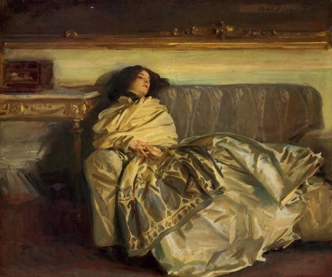"""Картина """"Отдых"""", 1911, Джон Сингер Сарджент"""