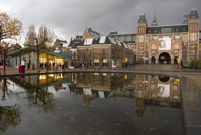 Фото Рейксмузеума в Амстердаме