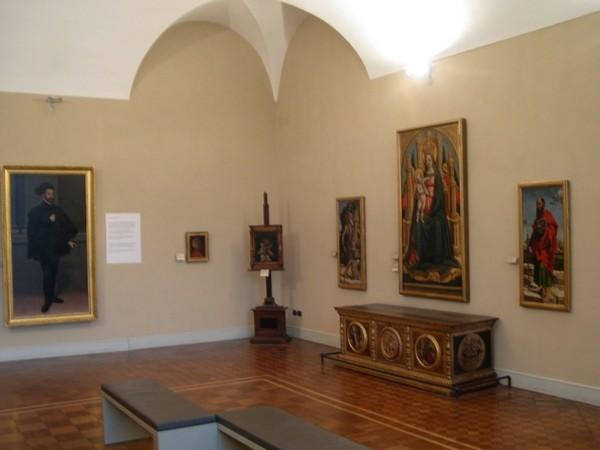 Один из залов музея Польди-Пецолли