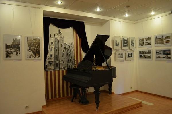 Рояль в музее