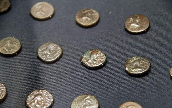 Древние монеты керченского музея