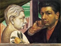 "Де Кирико - ""Автопортрет"" 1922"