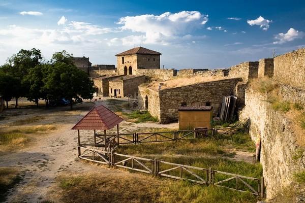 Вид с северной стороны Аккерманской крепости