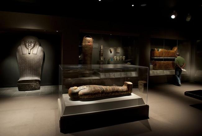 Зал египетской культуры. Музея изящных искусств, Бостон