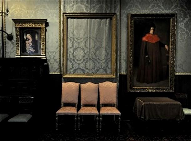 Одна из комнат музея Изабеллы Стюарт Гарднер