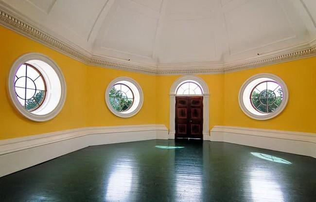 В одной из комнат музея Джеферсона