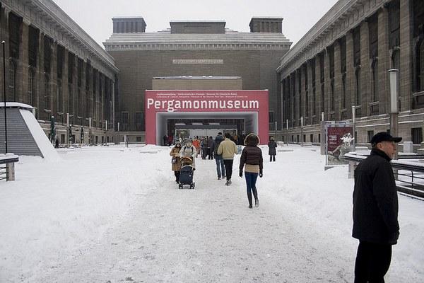 Пергамский музей Пергамон самый известный в Берлине