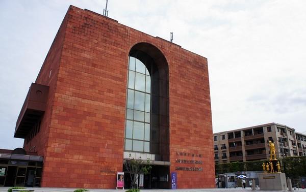 Здание музея атомной бомбы