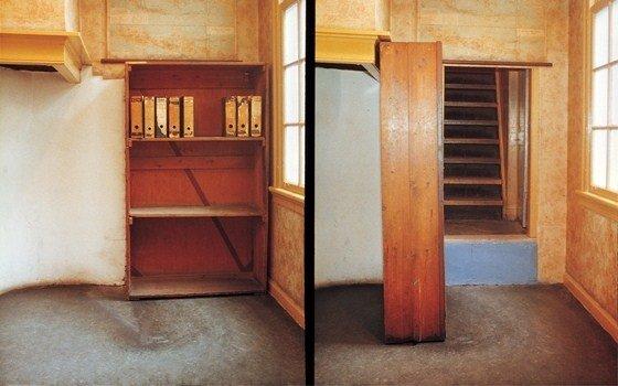 Шкаф и потайной вход