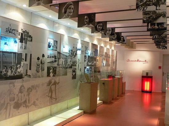 Комната музея Анны Франк
