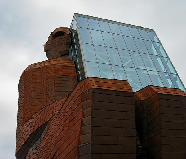 Здание музея человеческого тела