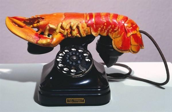 Рак на телефонной трубке, музей Дали