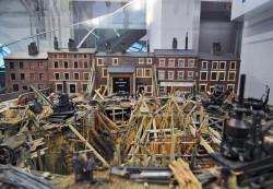 Лондонское метро строили вручную - макет в музее транспорта