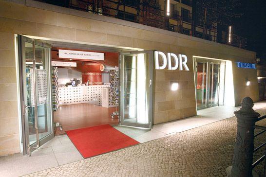 Здание музея ГДР в Берлине