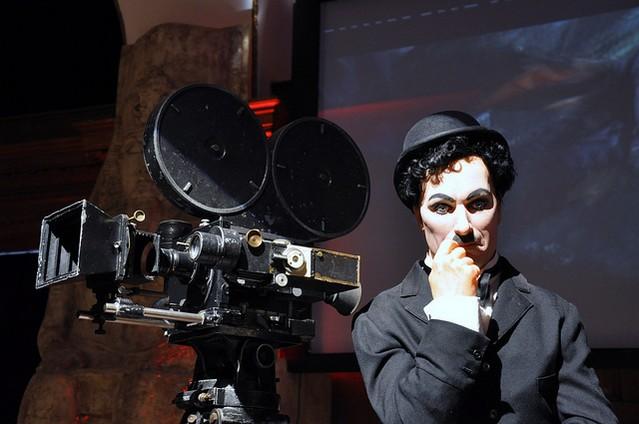 Чарли Чаплин в лондонском музее кино