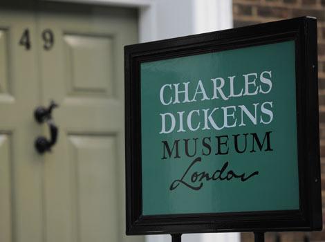 Музей Чарльза Диккенса в Лондоне