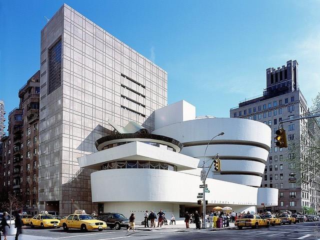 Музей Соломона Гуггенхайма в Нью Йорке