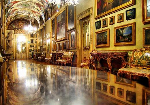 Один из залов галереи Дориа-Памфили