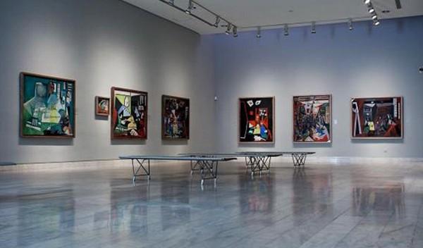 Один из залов музея Пикассо в Барселоне