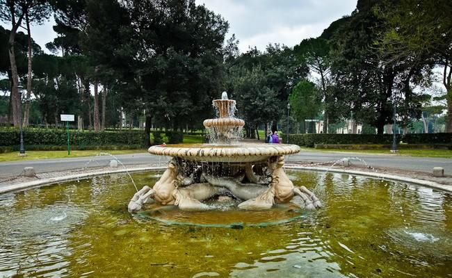 Парк Боргезе - самый большой в Риме