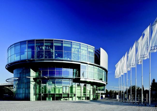 Музей Ауди в Ингольштадте, Германия