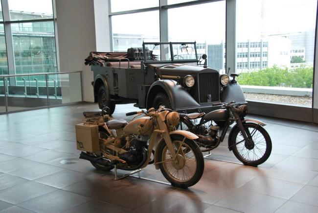 Мотоцикл Хорьх