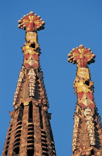 Башни вблизи