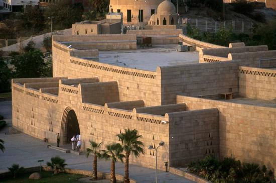 Нубийский музей с высоты