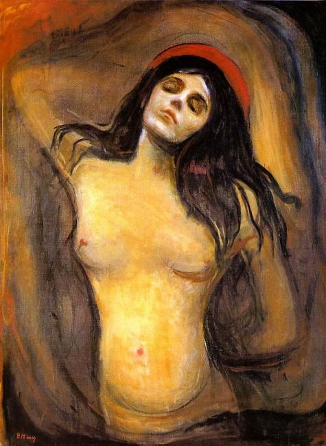 Мадонна, Эдвард Мунк, 1894