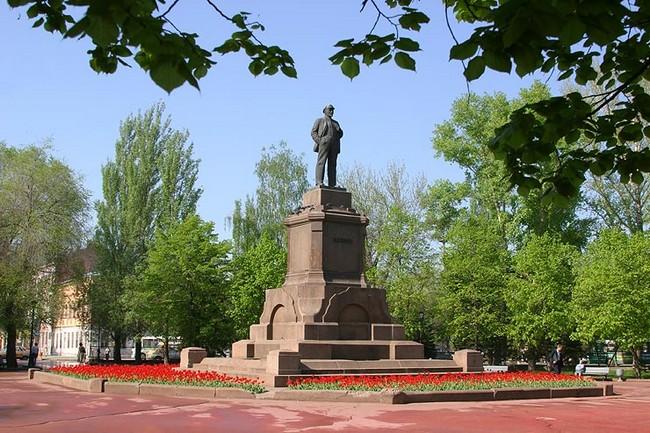 Памятник Ленину, Самара