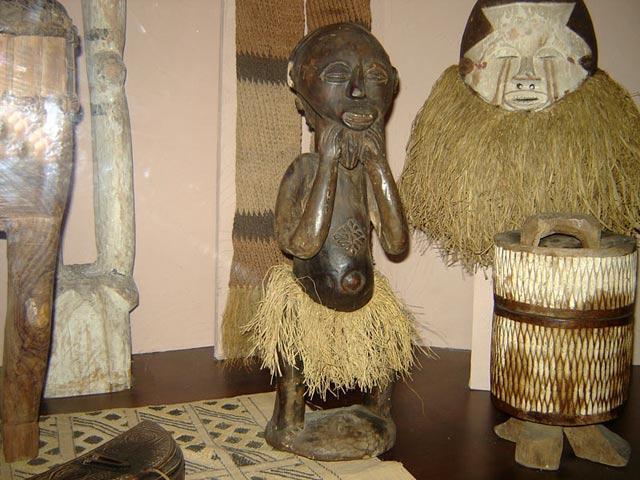 Скульптура тропической и южной Африки - описание