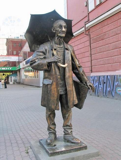 Памятник художнику Поздееву