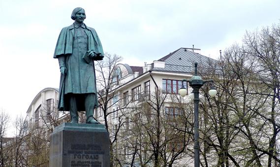 Памятник Гоголю, Киев