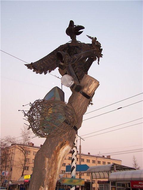 Памятник Папарацци, Омск