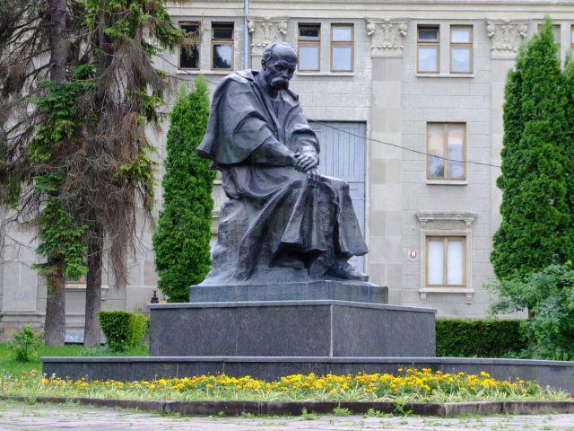 Памятник Тарасу Шевченко, Тернополь