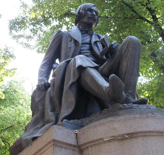 Скульптура Гоголя, Полтава