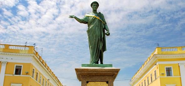 Скульптура Дюку Ришелье, Одесса