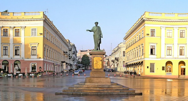Памятник Дюку Ришелье, Одесса