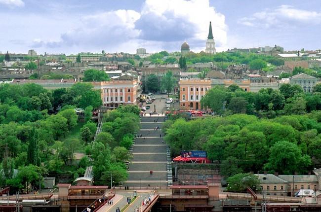 Приморский бульвар и Потемкинская лестница, Одесса