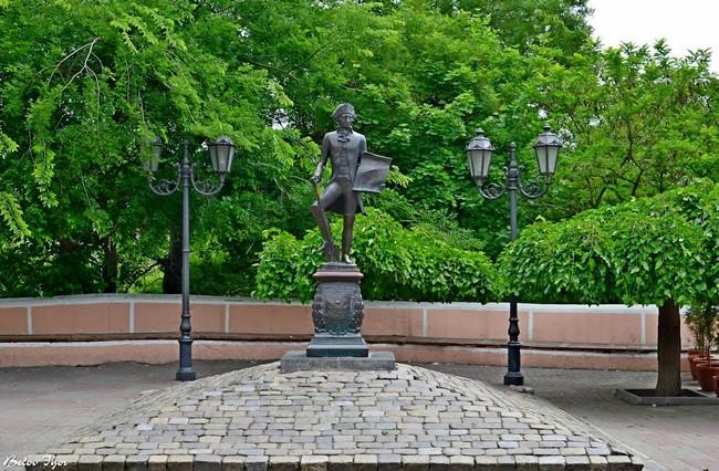 Скульптура Осипа Дерибаса, Одесса