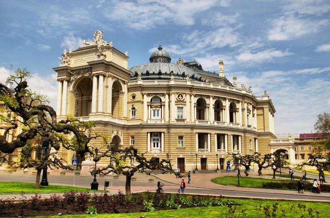 Памятники и скульптуры Одессы