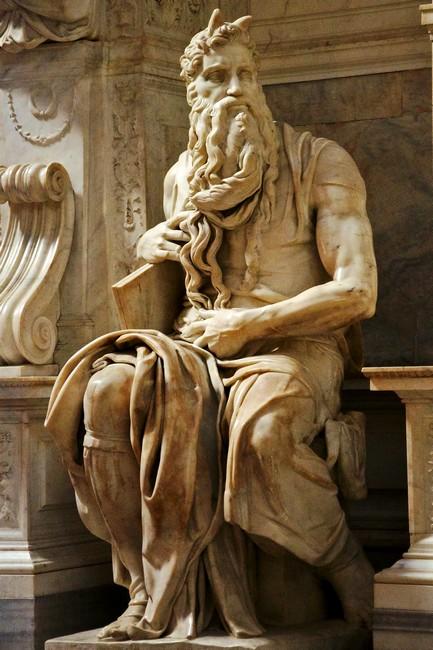 Статуя пророка Моисея - любимая скульптура Микеланджело