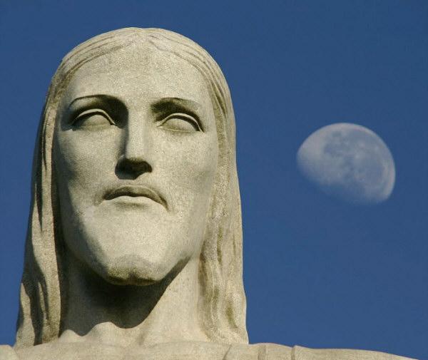 Скульптура Христос-Искупитель, Бразилия, лицо, голова