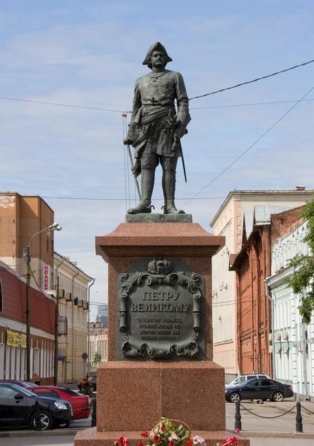 Скульптура императора Петра, Антокольский