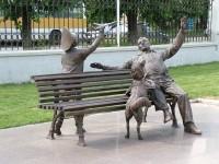 Преемственность поколений, Красноярск, памятник
