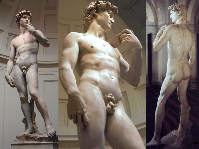 Статуя Давида во Флоренции - автор Микеланджело