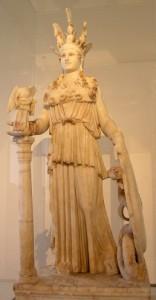 Скульптура Афины Парфенос