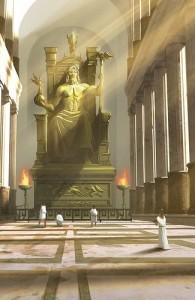 Скульптура Зевса Олимпийского