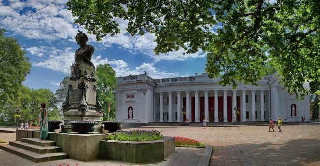 Памятник Пушкину в Одессе, Приморский бульвар