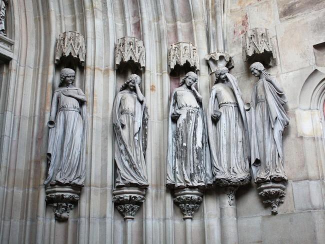 Неразумные девы Магдебургского собора